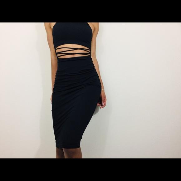 Hot Miami Styles Dresses Sexy Black Dress Poshmark